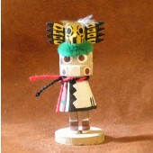 KN9 Owl Navajo Handmade Kachina