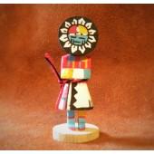 KN17 Sunface Navajo Handmade Kachina