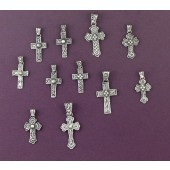 CPK0 Silver Cross Pendants Online Set