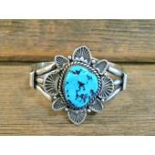 PB21 Pawn Sleeping Beauty Turquoise Bracelet