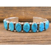 PB31 Pawn Sleeping Beauty Turquoise Bracelet