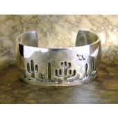 RMB1 Tohono O'odham Overlay Bracelet By Rick Manuel