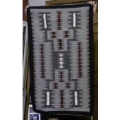 DER115 - Navajo Handmade Rug Storm Pattern