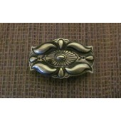 HCP1 Sterling Concho Hair Clip