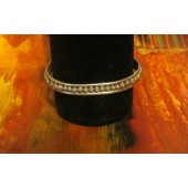 LMSB27 Monroe and Lillie Ashley Silver Cuff Bracelet