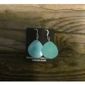 SDE5 Turquoise Slab Earrings