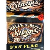 SRF5- 81st Sturgis Motorcycle Rally Flag