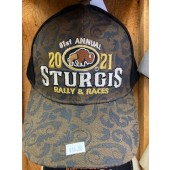 SH3- 81st Sturgis Motorcycle Rally Hat