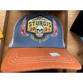SH6- 81st Sturgis Motorcycle Rally Hat