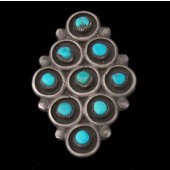 R126 Navajo Handmade Pawn Ring