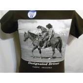 TBRN140 Designated Driver T-Shirt  (Brown)